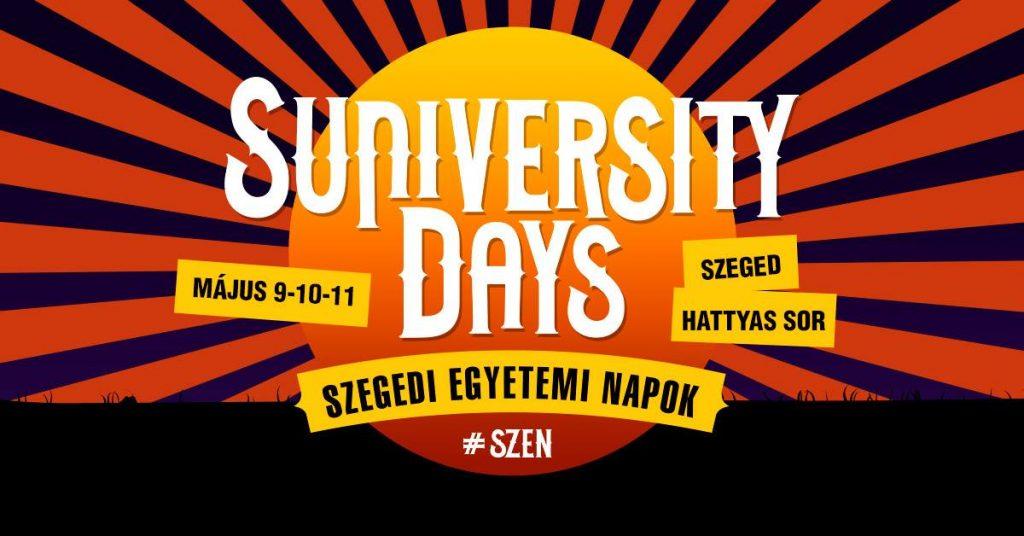 Szegedi Egyetemi Napok – TOTALJEGY